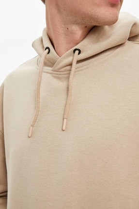 Defacto Oversize Fit Kapüşonlu Sweatshirt 2