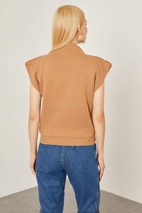 Arma Life Kadın Bisküvi Vatka Görünümlü Kolsuz Bluz 4