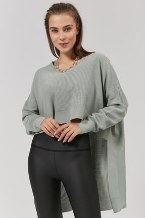 Pattaya Kadın Önü Kısa Arkası Uzun Triko Kazak Y20w192-2220 0