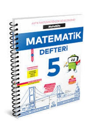 Arı Yayıncılık Arı 5. Sınıf Akıllı Matematik Defteri 0