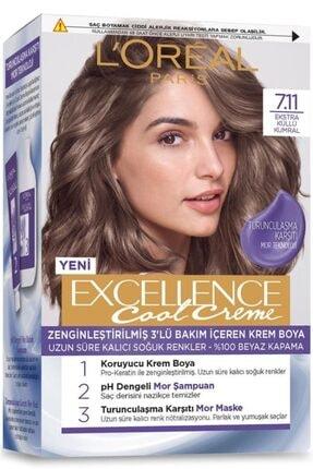 L'Oreal Paris L'oréal Paris Excellence Cool Creme Saç Boyası – 7.11 Ekstra Küllü Kumral 1