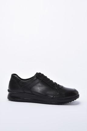 Yaya by Hotiç Hakiki Deri Siyah Erkek Casual Ayakkabı 02AYY195080A100 0