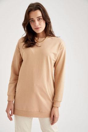 Defacto Oversize Basic Tunik Sweatshirt 2