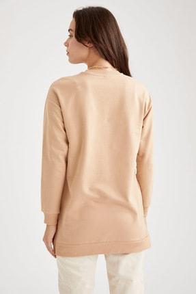 Defacto Oversize Basic Tunik Sweatshirt 3