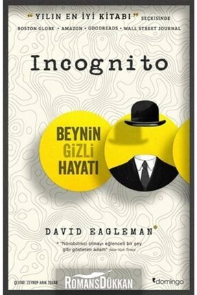 Domingo Yayınları Incognito - Beynin Gizli Hayatı 0