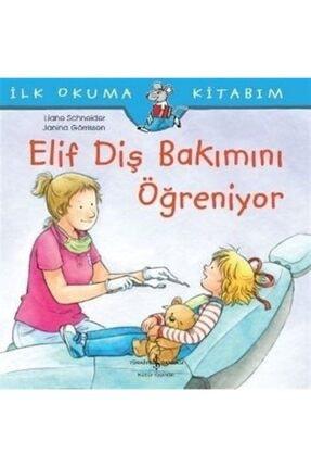 İş Bankası Kültür Yayınları Elif Diş Bakımını Öğreniyor / Ilk Okuma Kitabım 0