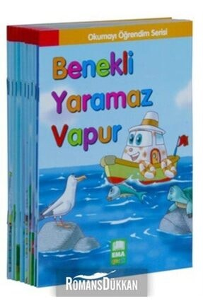 Ema Çocuk Okumayı Öğrendim Serisi  10 Kitap Takım Küçük Boy 0