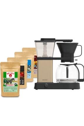 Konchero Preciso Alüminyum Filtre Kahve Makinesi / 250 Gr X 4 Paket Yöresel Filtre Kahve Hediyeli 0