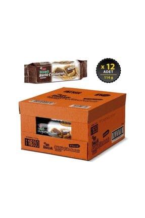Eti Burçak Sütlü Çikolatalı 114 g x 12 Adet 1