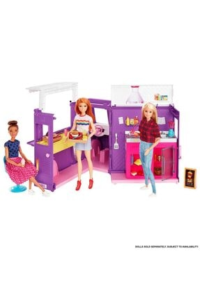 Barbie Barbie'nin Yemek Arabası Gmw07 2
