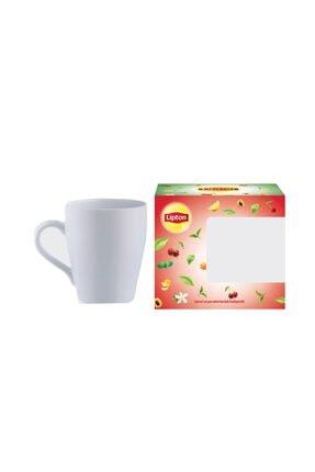 Lipton Form Plus Kayısılı 20'li Bardak Poşet Çay X 4 Adet + Kupa Bardak Hediye! 1