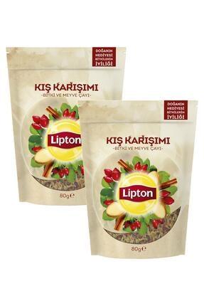 Lipton Kış Karşımı Dökme Bitki Çayı 80 Gr X 2 Adet 0