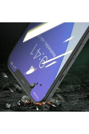 Baseus Iphone 12- 12 Pro 6.1 0.15mm Full Tempered Cam Ekran Koruyucu 2set Anti-bluelight 4