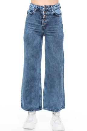 Sismo Butik Kadın Bol Paça Kot Pantolon Wide Leg Jeans 1