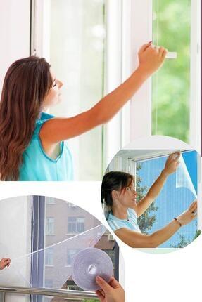 Arsimo Kesilebilir Pencere Sinekliği 2 Adet Cırt Bantlı Yapışkanlı 100cm X 150cm 0