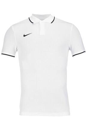 Nike Erkek Beyaz M Polo Tm Club19 Polo Tişört Aj1502-100 0