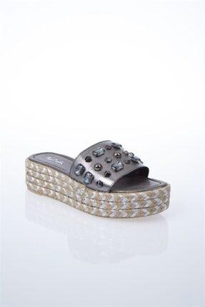 Pierre Cardin PC-6131 Platin Kadın Sandalet 1