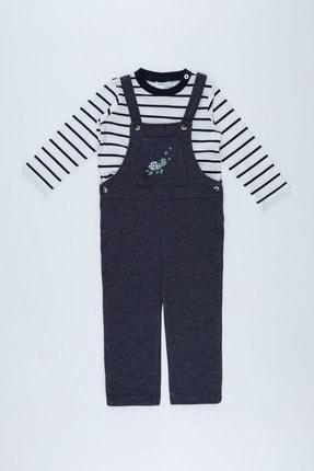 Defacto Erkek Bebek Tulum Ve Tişört Takım 0