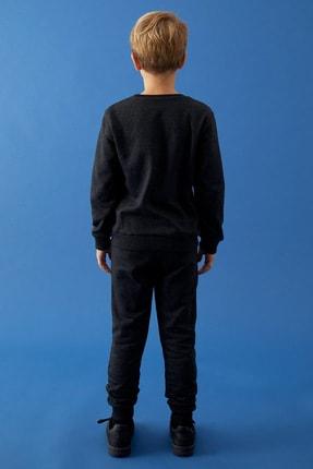 Defacto Erkek Çocuk Baskılı Sweatshirt Ve Jogger Eşofman Alt Takım 3