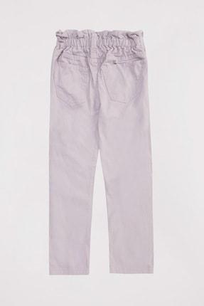 Defacto Kız Çocuk Elastik Belli Paperbag Jean Pantolon 3