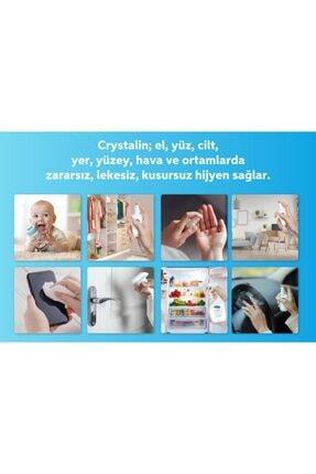 Crystalin Eco Antiseptik Dezenfektan Hijyenik Yaşam Kiti - El Cilt Ve Ortam Dezenfektanı 4