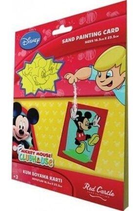 Egem Grup Organizasyon Mickey 1 Kum Boyama Kartları 0