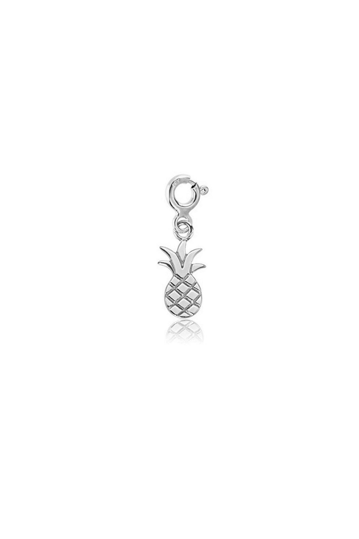 Femmevien 925 Ayar Gümüş Ananas Charm