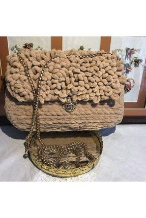 Alize Puffy El Örgüsü Çanta portföy67