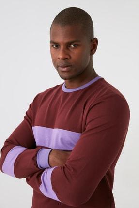 TRENDYOL MAN Kahverengi Erkek  Sweatshirt TMNAW21SW1099 1