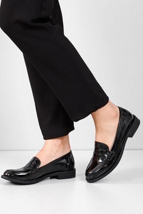 GÖNDERİ(R) Siyah Rugan Kadın Günlük (Casual) Ayakkabı 37102 1