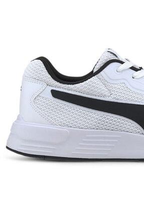 Puma TAPER Beyaz Erkek Koşu Ayakkabısı 100654887 2