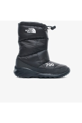 Nuptse Bootie 700 Kadın Siyah Bot NF0A4OAYKY41
