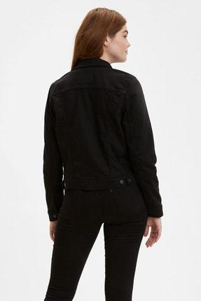 Levi's ® The Trucker Jacket Kadın Jean Ceket Siyah 29945-0038 1