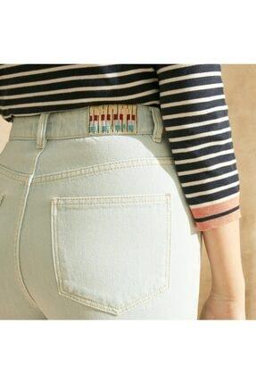 Yargıcı Kadın Straight Mom Fit Denim Pantolon 3