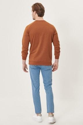 Altınyıldız Classics Erkek Buz Mavisi Slim Fit Dar Kesim Denim Esnek Jean Kot Pantolon 4