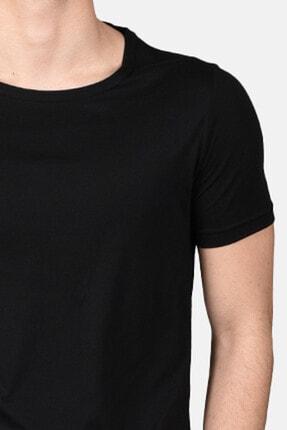 Malabadi Erkek Antrasit Alt Siyah Üst Şortlu Pijama Yazlık Takım M565 2