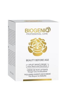 Biogeniq Beauty Yaşlanma Karşıtı Gece Kremi 50 ml 0
