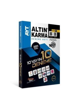 Altın Karma Yayınları Altın Karma 2021 Ayt 10 Farklı Yayın 10 Deneme Seti 0