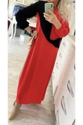 Kırmızı Uzun Elbise AGKEL001
