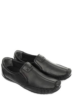 GÖNDERİ(R) Hakiki Deri Siyah Erkek Günlük (Casual) Ayakkabı 01612 0