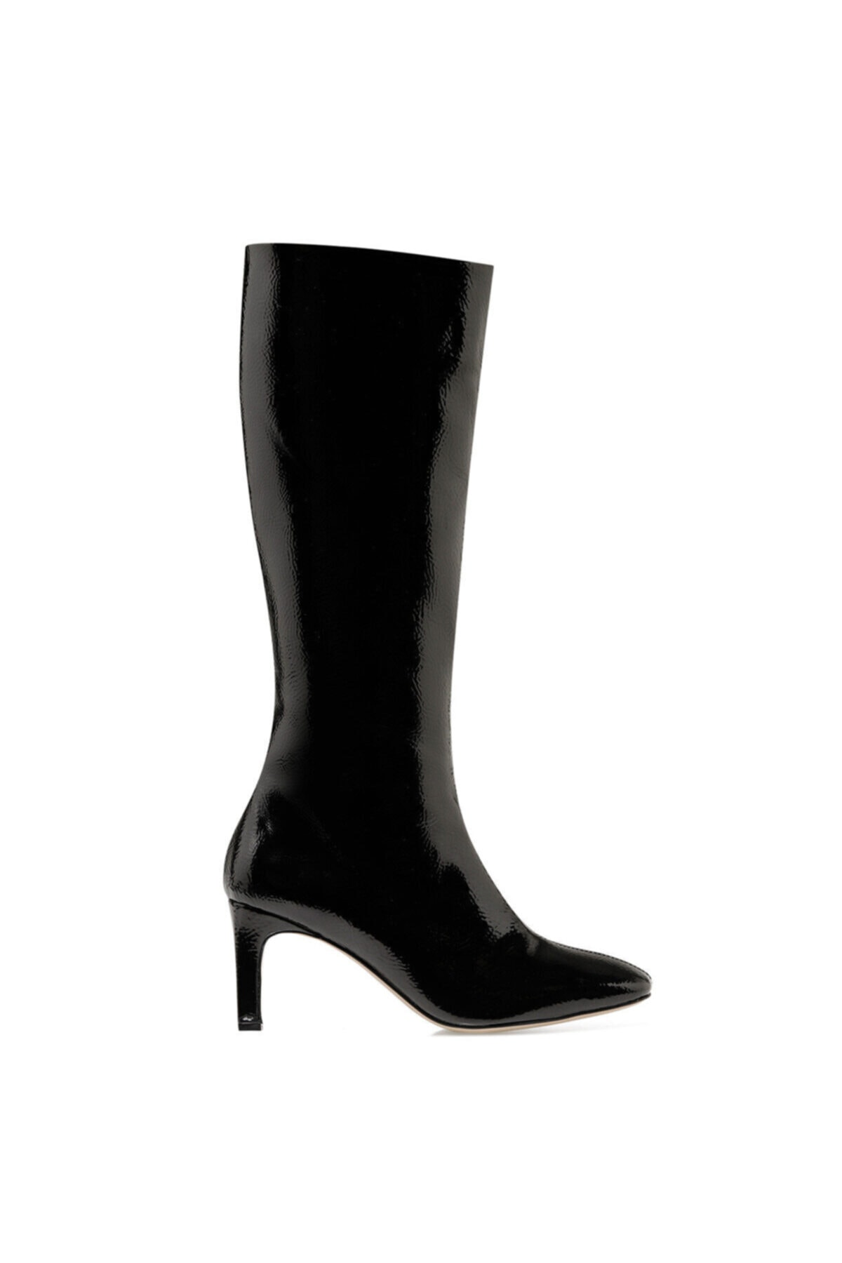 LAROSA Siyah Kadın Ökçeli Çizme 100581995