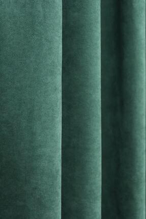 Brillant Yeşil Petek Dokulu Fon Perde 150x260 1