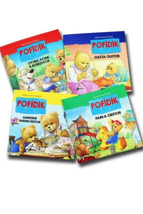 Çocuk Gezegeni Pofidik Çocuklar Için Hikaye Seti 4 Kitap( 6-10 Yaş Ilköğretim Çocuk Kitapları) 0