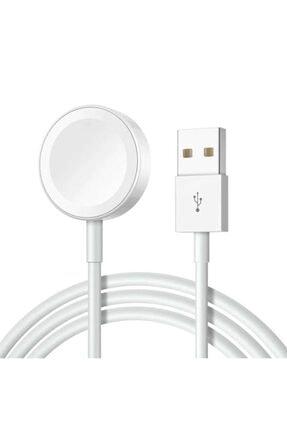 Zore Apple Watch Seri 1/2/3/4/5/6 Manyetik Usb Şarj Kablosu Aleti Hızlı Şarj 0