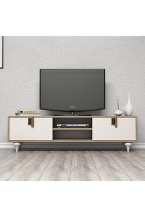 Cool Home Milas 150 Cm Ceviz-beyaz Tv Ünitesi 0