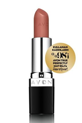 Avon True Perfectly Mat Ruj - Marvelous Mocha 0