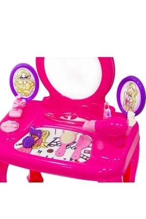 Dolu Barbie Makyaj Masası Ve Sandalyesi 1