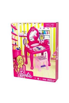 Dolu Barbie Makyaj Masası Ve Sandalyesi 2