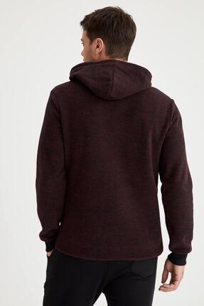 Defacto Strategy Baskılı Regular Fit Kapüşonlu Sweatshirt 3