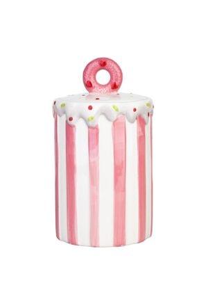 Cupcake Desenli Kavanoz 21cm - Pembe ZH042290500